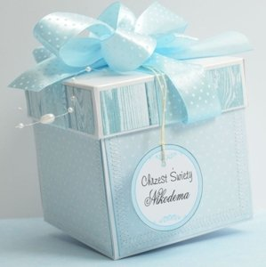 Decorative papers white pearl GoatBox