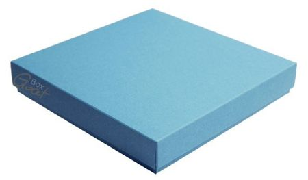 Square box blue with structure - GoatBox
