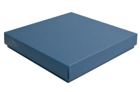 Square box dark blue - GoatBox