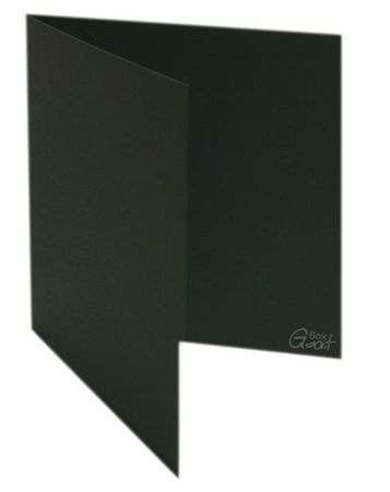 Square card black matte - GoatBox
