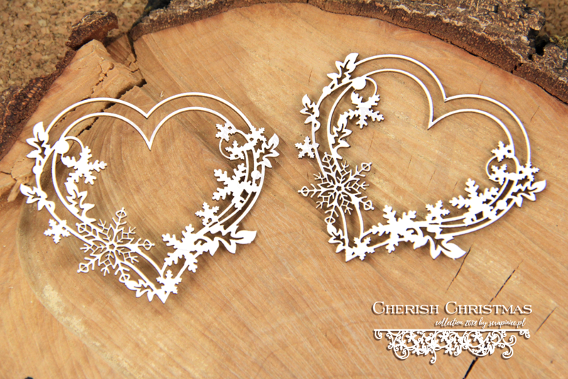 Cherish Christmas - 2 Hearts - 2 serca